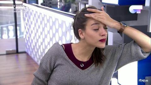 Operación Triunfo - Ana Guerra se agobia con la canción que le ha tocado