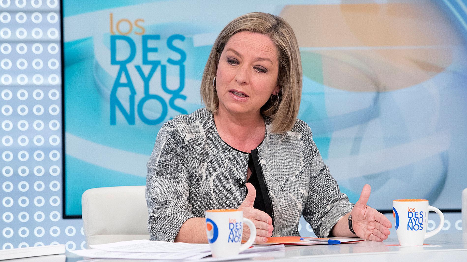 Ana Oramas (Coalición Canaria) en Los Desayunos de TVE