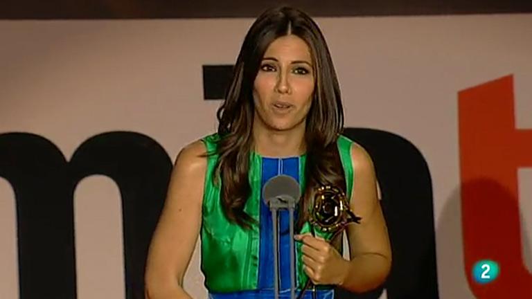 Ana Pastor, premio a la mejor presentadora de informativos