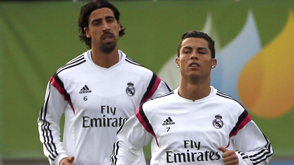 Ancelotti deja a Khedira fuera de la lista para Basilea