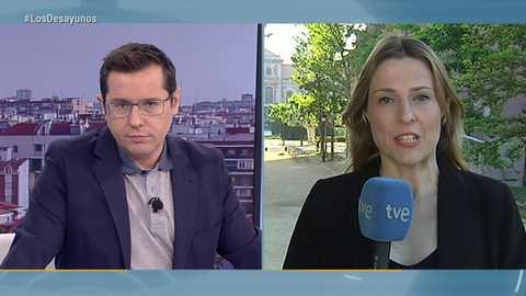 Los desayunos de TVE - Ander Gil, portavoz del PSOE en el Senado