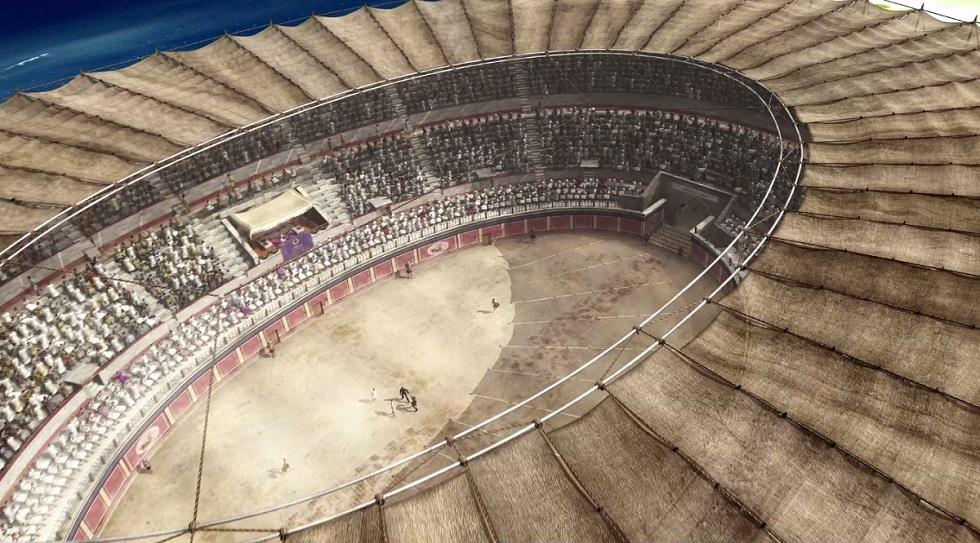 Ingeniería Romana - El anfiteatro de Tarraco