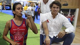 Ángel López y Miriam Casillas: médicos y olímpicos