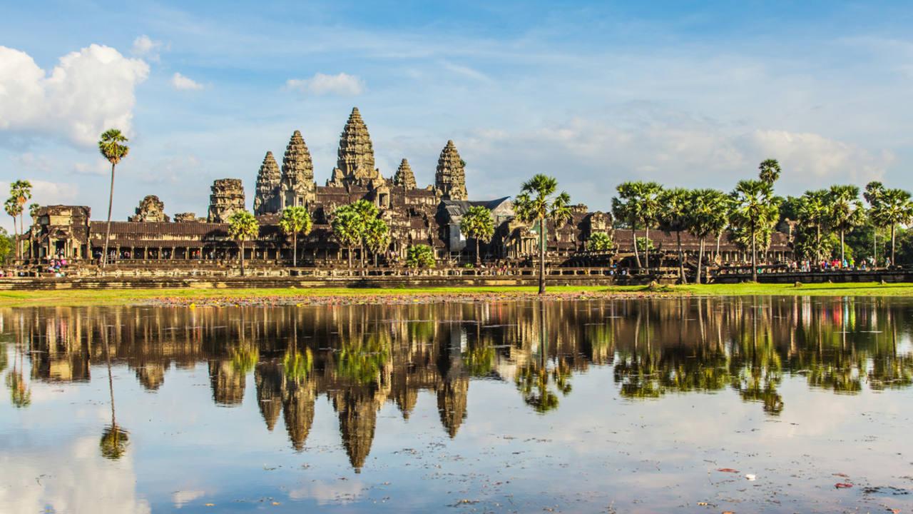 Angkor Wat, corazón del imperio Jemer.