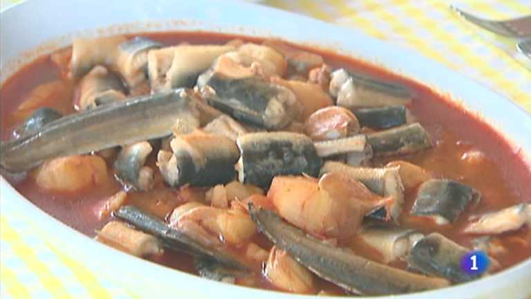 Somos #DietaMediterránea - Anguila y All i Pebre
