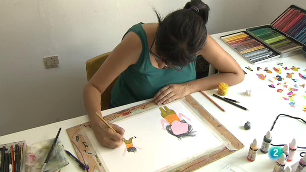 Punts de vista - Anna Font, il·lustradora infantil
