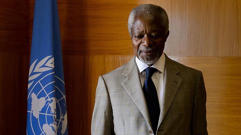 Annan arroja la toalla ante la imposibilidad de una salida política en Siria