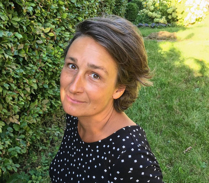 Anne Christine Girardot, directora de 'La isla de los monjes'