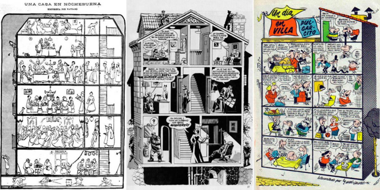 Antecedentes de '13, rue del percebe', de Joaquim Xaudaró, Will Eisner y Manuel Vázquez