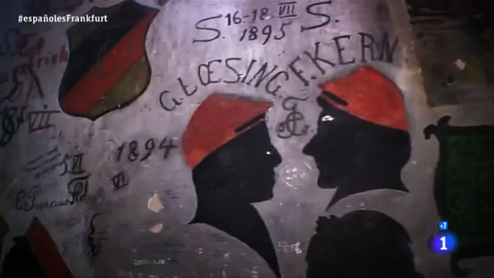 Españoles en el mundo - Fráncfort - Antigua Cárcel de Estudiantes de Heidelberg