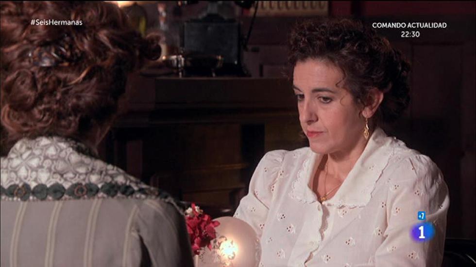 Seis Hermanas - Antonia y Gabriel se creen las mentiras de Soledad
