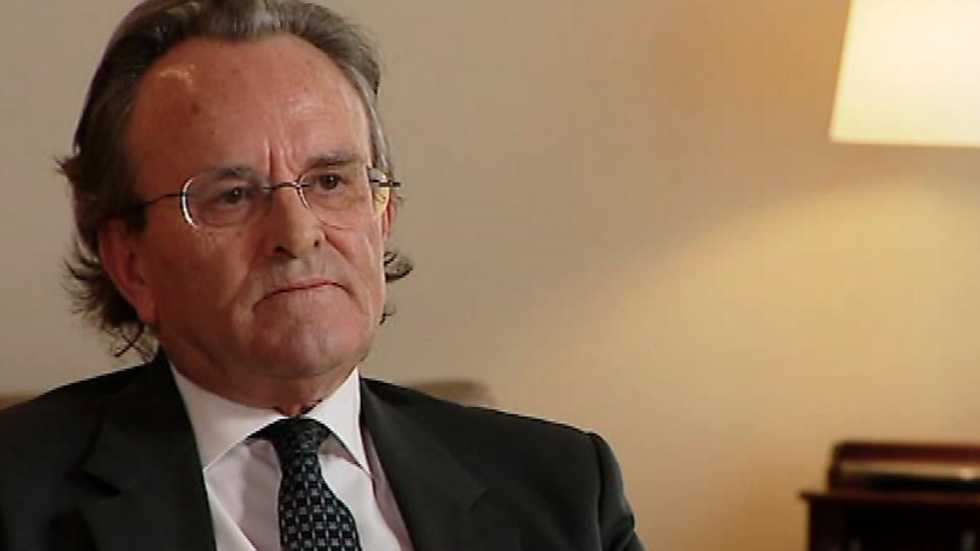 La galería - Antonio Hernández Mancha, senador y presidente de A.P. 1987-1989