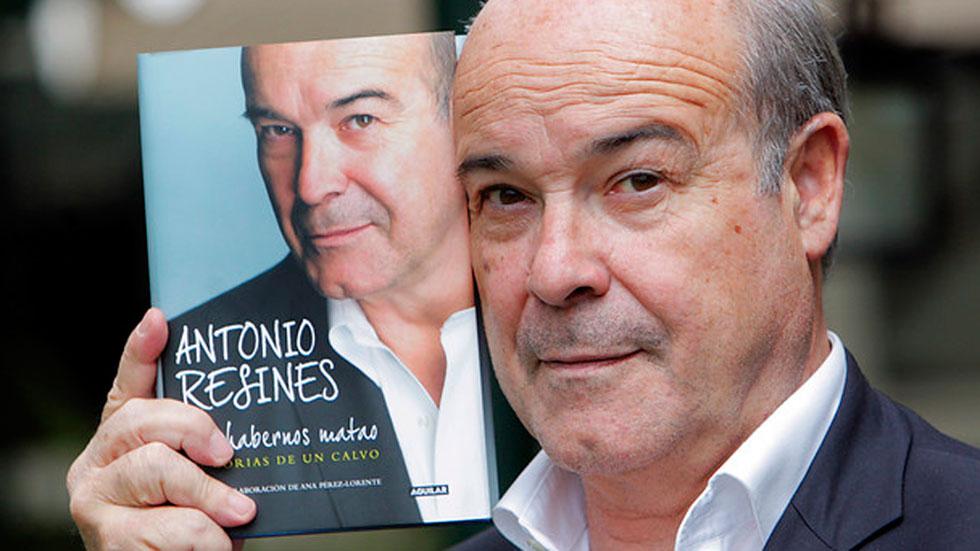 Antonio Resines acaba de publicar sus memorias en las que recoge anécdotas y reflexiones sobre sus películas