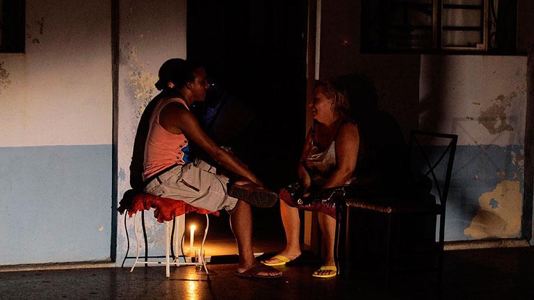 Un apagón deja sin luz a La Habana y a varias provincias de Cuba