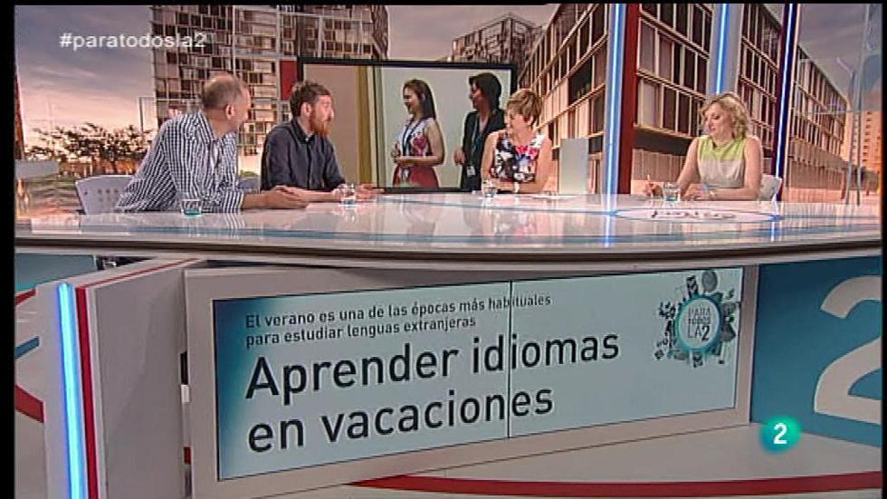 Para Todos La 2 - Coloquio - Aprender idiomas en vacaciones