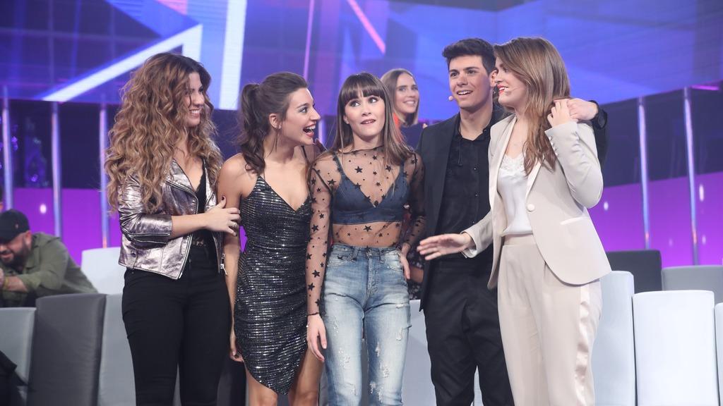Operación Triunfo - 'Arde', 'Tu canción' y 'Lo malo' finalistas de la Gala Eurovisión de OT