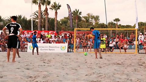 Fútbol playa - Arena Games Tour 2017