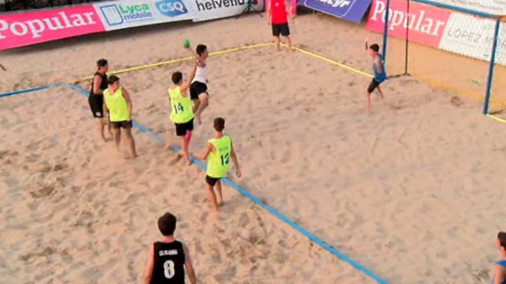Balonmano Playa - Arena Handball Tour 4 Prueba Valencia. Resumen