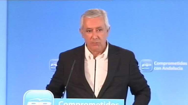 Javier Arenas, presidente del PP andaluz, no se presentará a la reelección