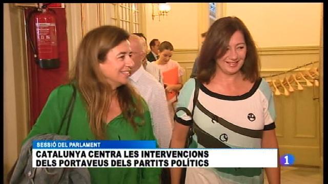 Armengol demana a Puigdemont que no declari unilateralment la independència