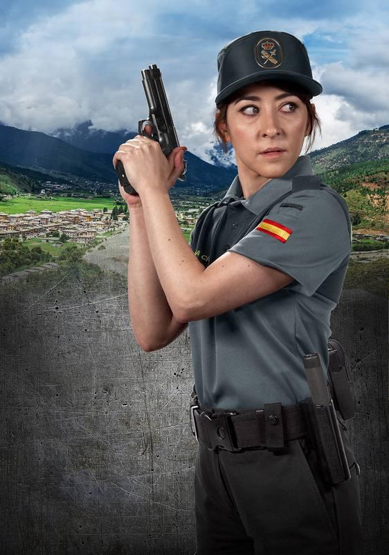 Arrea (Elena Alférez) es la nueva guardia civil de Ezcaray