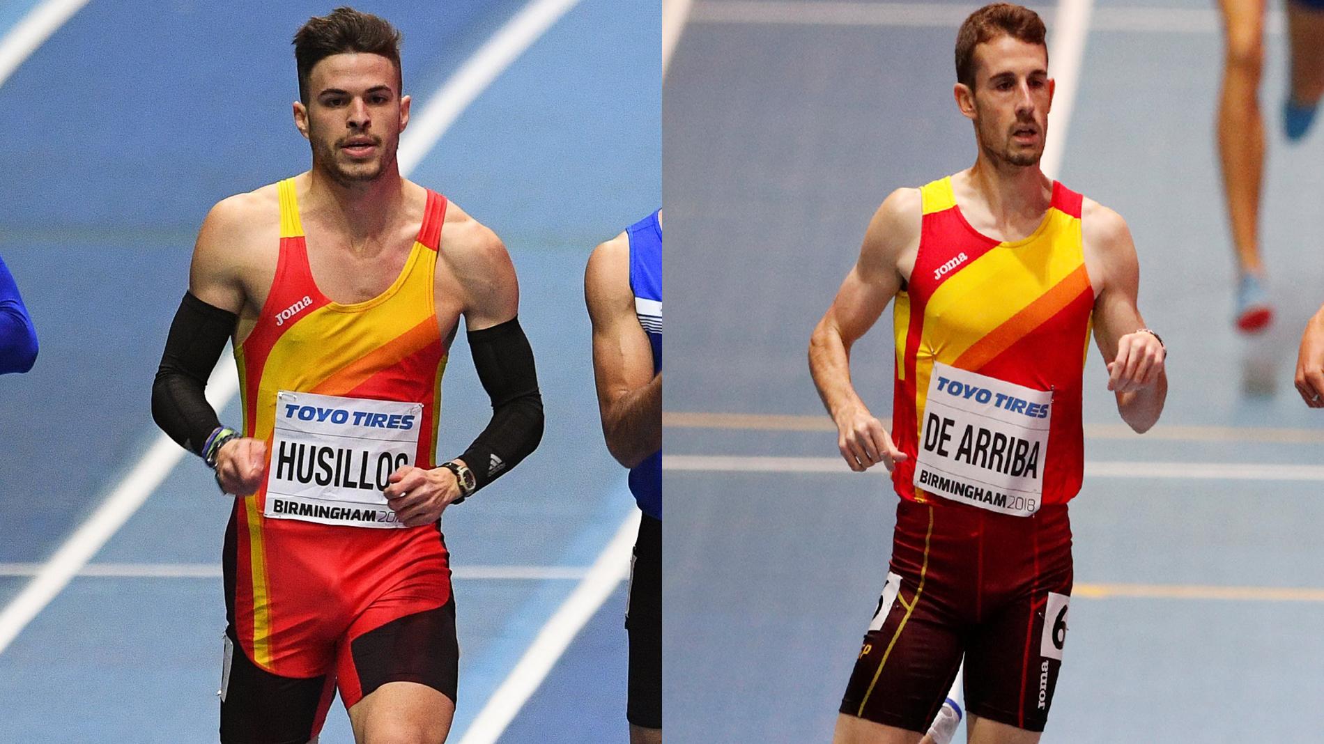 De Arriba, en 800, y Husillos, en 400: dos atletas que brillan en Birgmingham con estilos diferentes