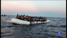 Arriben els immigrants de l'Aquarius