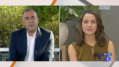 """Arrimadas: """"Como más de la mitad de los catalanes, estamos absolutamente excluidos de los actos que ha organizado la Generalitat"""""""