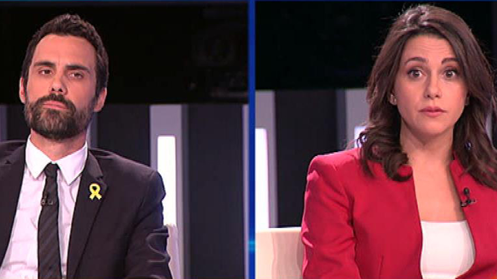 Arrimadas y Torrent se preguntan mutuamente si respetarán el resultado de las elecciones del 21-D