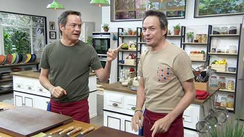 Torres en la cocina - Arroz de navajas y magdalenas de té