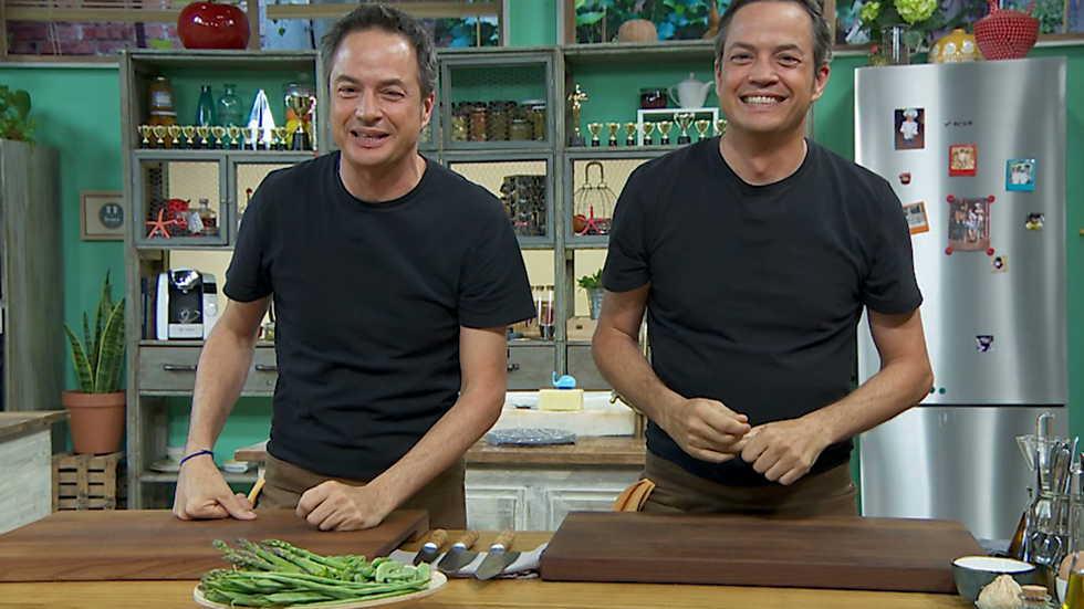 Torres en la cocina - Arroz con verdura y pastelitos de frutos secos