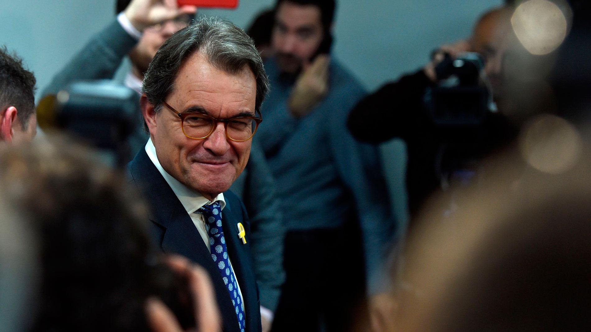 """Artur Mas: """"Esto del tribunal de cuentas suena más a tribunal de ajuste de cuentas"""""""