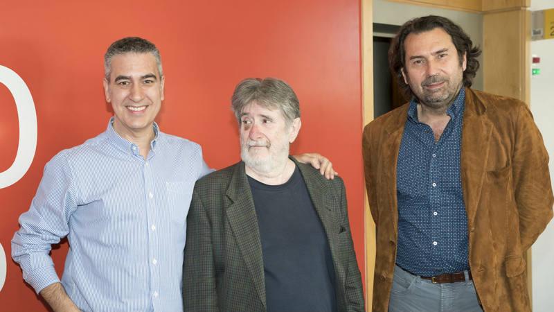 Arturo Martín, en otra imagen con sus últimos invitados