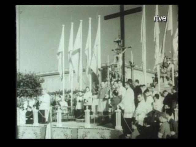 Arxiu TVE Catalunya - Memòria Popular - XXXV Congreso Eucaristico internacional de Barcelona al 1952
