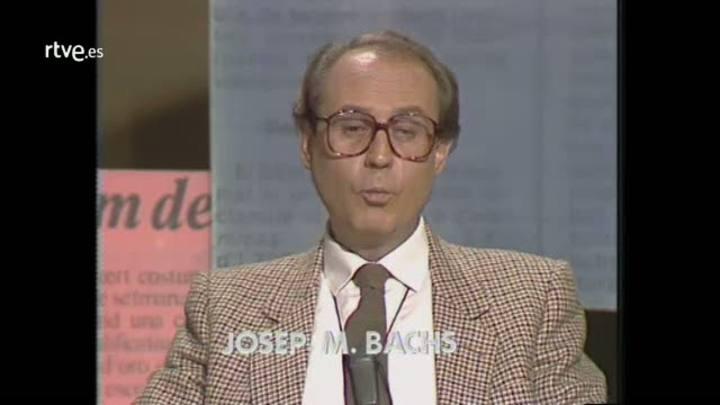Arxiu TVE Catalunya - Opinió - Josep Maria Bachs