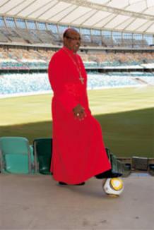 El arzobispo de Durban, Wilfried Fox Napier.