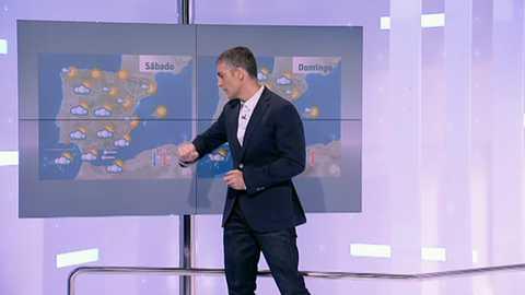 Ascenso de temperaturas en mitad este, Baleares y Canarias