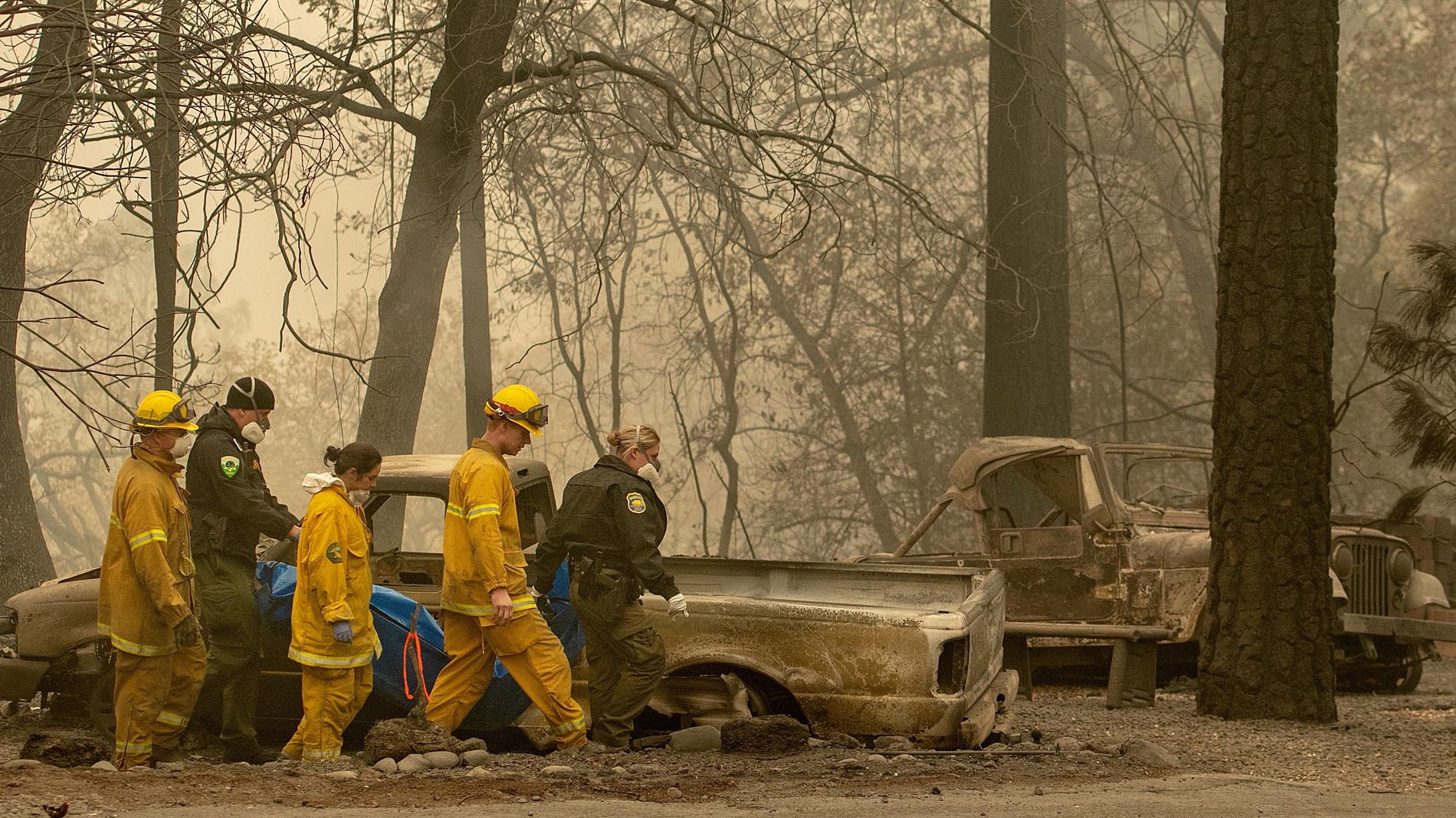 Ascienden a 59 los muertos por el devastador incendio de California