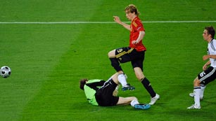 Así contó RNE el gol de Torres en la Eurocopa 2008
