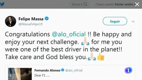 Así despide el mundo del deporte a Fernando Alonso, un pionero español