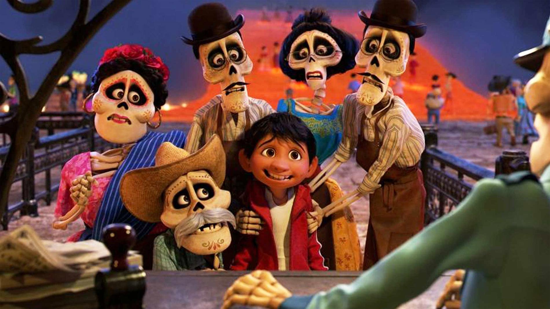 Así es la llegada al mundo de los muertos en 'Coco'