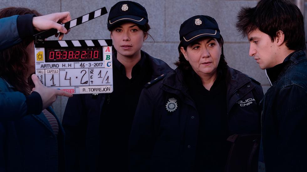 Servir y proteger - Así es el rodaje de la nueva serie de TVE