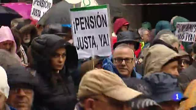 Así se han vivido las protestas por las pensiones en toda España