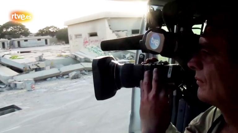 """Asi se hizo """"Libia, la hora de la verdad"""""""