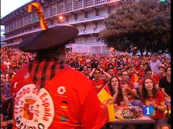 Así se vivió el partido en España