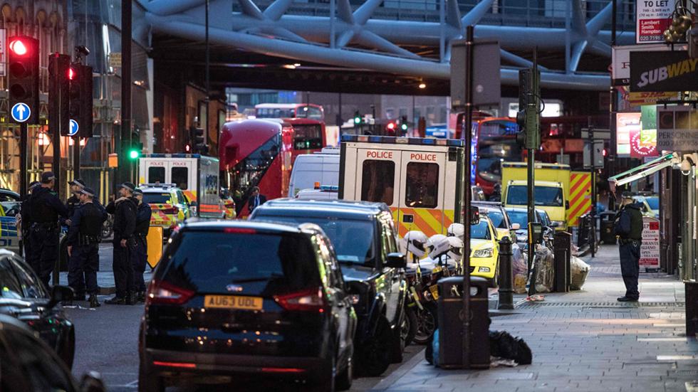 Así ha sido el ataque con cuchillos en el mercado londinense de Borough