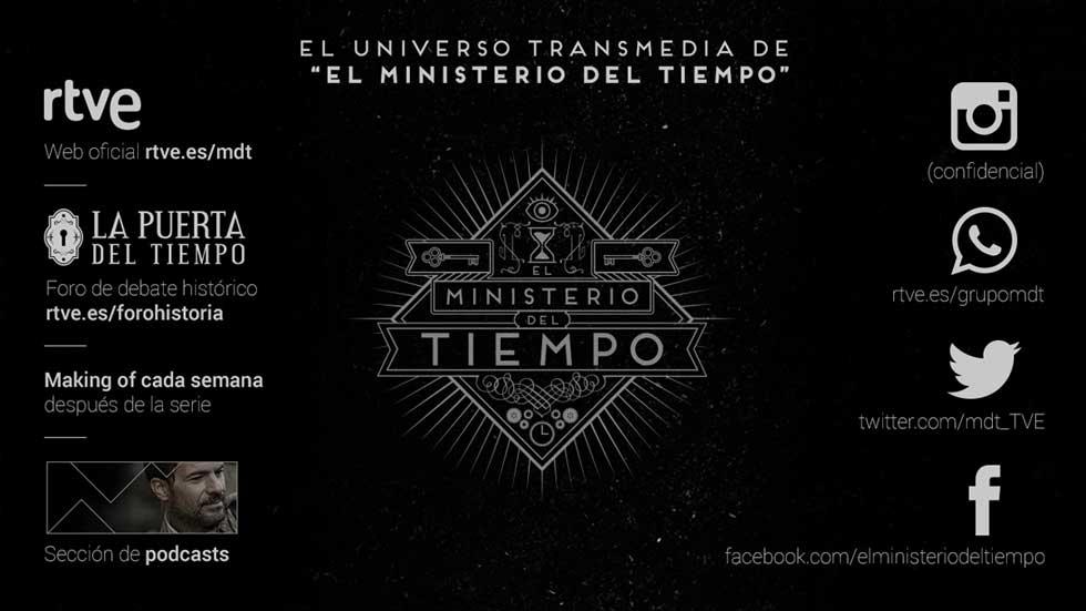 El Ministerio del Tiempo amplía su universo transmedia con contenidos exclusivos