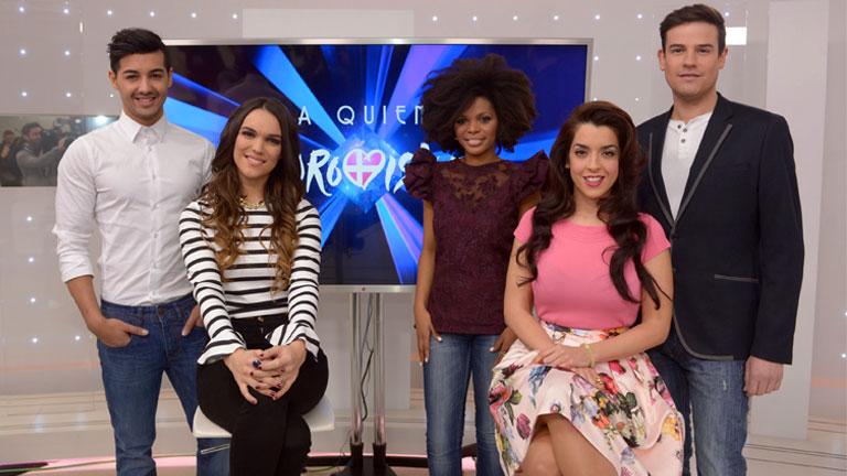 Eurovisión 2014 - Los aspirantes se preparan para 'Mira quién va a Eurovisión'
