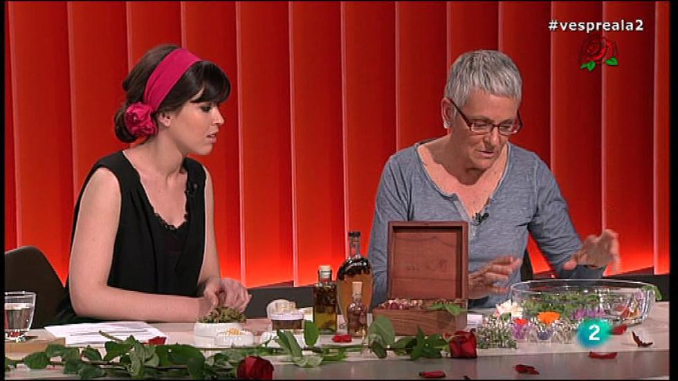 Vespre a La 2 - Entrevista Astrid van Ginkel, flors per menjar