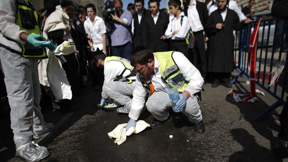 Dos palestinos matan a cuatro israelíes en un ataque a una sinagoga de Jerusalén